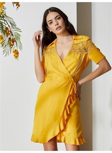 Vekem-Limited Edition Elbise Sarı